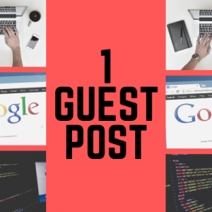 1 Guest Post