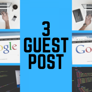 3 Guest Post